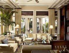 The Enchanted Home: Designer Spotlight: Rogers Design Group and a winner! Double sofa seating