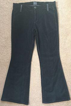 Joe's Jeans Women's Black Collection Velvet Skinny Flare Dress Pants 30 or 10 | eBay