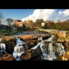 Falls Park, Greenville SC