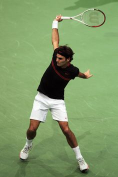 a little bit of a tough match for Roger today, but he made it. On to meet Del Potro tomorrow in the Rotterdam Final!