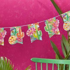 Guirnalda Mojito Party #party #mojito #joy #fun #cactus