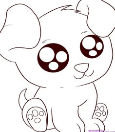 49 Best Super Cute Animal Coloring Pages Images On Pinterest - Cute-cartoon-animal-coloring-pages