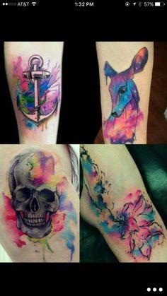 Colorful Tattoos