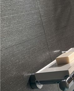 Groove porcelain tile with its distinctive texture, lends a modern look to any interior. With unique mosaics, the design possibilities are endless. Tiles Texture, Modern Bathroom, Porcelain Tiles, Ceramics, Mosaics, Interior, Fabric, Inspiration, Inspired