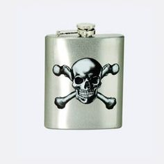 Sales Producers Inc. - Spoontiques - Skulls and Crossbones Flask
