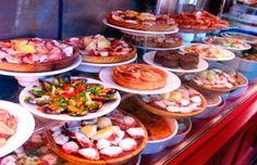 Top 10 Best Tapas Bars in Málaga Buffet food to us non-Spanish.