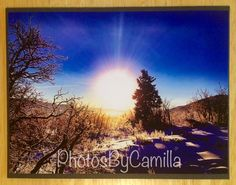 Sunrise in negative 20 degrees by PhotosByCamilla on Etsy