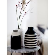 Image 1 of the product STRIPED CERAMIC VASE