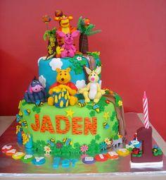 Yochana's Cake Delight! : Jaden Turns 1 !!