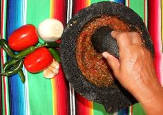 nanahuatzin1:  Chile de Molcajete! You know they're making chile de Molcajete in your house when you randomly start coughing hahaha Pero sabe tan chingón!
