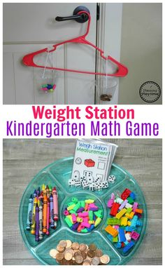 Measurement Worksheets Weigh Station – Measurement Game for Kindergarten Measurement Kindergarten, Measurement Worksheets, Kindergarten Math Activities, Preschool Science, Homeschool Math, Teaching Math, Steam For Kindergarten, Math Activities For Kindergarten, Measurement Games