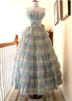 14. Favorite Dress - I love anything Alice in Wonderland inspired, especially with the delicate blue color pattern. While this may not be a practical everyday dress, it can exist in my dream closet!