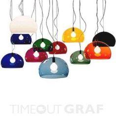 Fly FL/Y Hängeleuchte Kartell - TIMEOUTGRAF.com Design Lampen Design Möbel Design Einrichtung