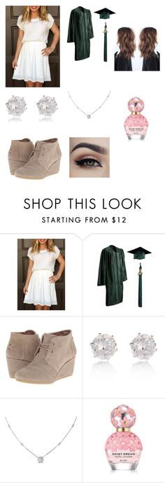 """""""Graduation in about 3 months!"""" by sarapotter98 on Polyvore featuring beauty, TOMS, River Island, Ice and Marc Jacobs"""