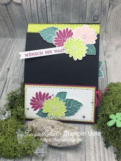 FancyFolds Team Blog Hop ... EnvelopePunchboard GiftCardholder - Creative with Tanja workshops and shop for stamps, stamping, paper
