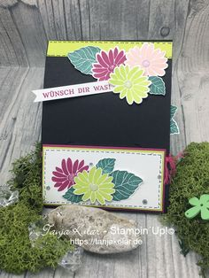 FancyFolds Team Blog Hop ... EnvelopePunchboard GiftCardholder - Creative with Tanja workshops and shop for stamps, stamping, paper