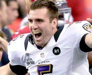 MVP Flaccos heroics best Niners - and all those who doubted QB. Nfl Playoffs, Baltimore Ravens, Super Bowl, Heaven, In This Moment, Purple, Sky, Heavens, Purple Stuff