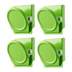 OLEBY Magneettinen paperiliitin - roheline - IKEA