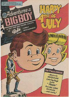 Bob's Big Boy Restaurant comic book, 1985