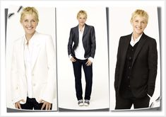 *For more icons, visit dapperQ's Icons Section Ellen DeGeneres is the quintessential mainstream dapperQ. Always in the spotlight, she makes dressing dapper look effortless...