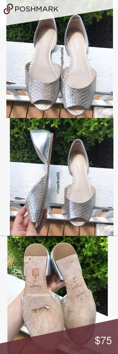 Coach Sherlock Open Toe Flats Gorgeous 100% authentic Coach sherlock open toe flats - size 7.5 B - excellent preloved condition with only minimal wear - box not included - !!NO TRADES!! Coach Shoes Flats & Loafers