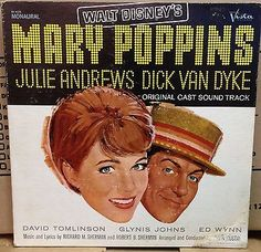 Mary Poppins Disneyland Record