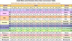 Crockett And Jones Shoe Size Chart