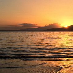 Maui sunset, wait untill you see whole picture