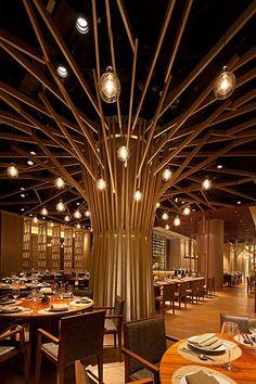 Mango Tree II Restaurant, Hong Kong by Steve Leung Designers For more, visit: http://www.hongkongbuzz.com/