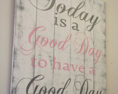 Inspirational Wood Sign Accept What Is Let Go by RusticlyInspired