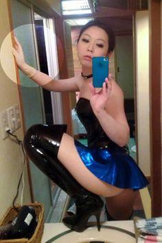 Latex selfie