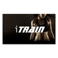 Modern personal trainer business card personal training personal trainer exercise gym fitness business business card templates accmission Gallery
