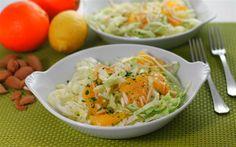insalataMente: Lattuga, arancia e mandorle, nel piatto dell'insalatologa citrofila