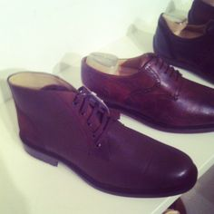 Chocolate shoe-boots for men by Franco Cuadra