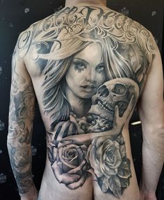 Tatouage réalisé par Antonio Macko