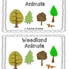 This emergent woodland animal reader includes seven animals: fox, beaver, squirrel, raccoon, robin, owl, and rabbit. The colored graphics reprodu...