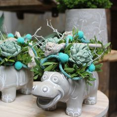 Happy stuf #rhinoplanter#hippoplanter#decoration