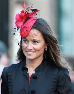 Pippa A hot pink fascinator was the perfect accessory for a family friend s  wedding in 178643ff05f