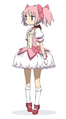 #Madoka #anime why is this anime so cute?!