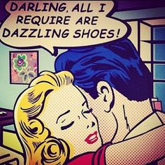dazzling shoes...