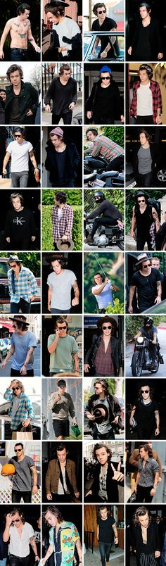 I love that one picture on the third row..three pictures from the right. His face is priceless.
