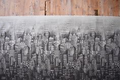 Skylines #hoffmanspectrumdigital #quilting #bigapple #bigcity #quilts #cotton #digitalprint #fabric #city #urban