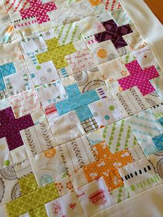 Pillow talk swap | Flickr - love those little crosses with the low volume