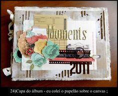 Canvas Mini Album Tutorial - Tania Martyns