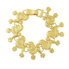 Just a lil sumthin to help those poodle stay pretty! This is our Pretty Poodle Link bracelet. Makes a great gift for new or existing members of Sigma Gamma Rho. Only the best for Rhoyalty! #sigmagammarho #sgrho #poodle #jewlery...