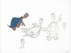 Model Cel of The Wizard as a turtle from The Sword In The Stone #interestingshapes