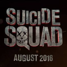 New Suicide Squad Movie Logo - slightly excited about this film.