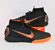 bddd4c536f87 Advertisement(eBay) Nike Mercurial Superfly X 6 Elite Indoor IC Soccer Shoes  Sz 8.5