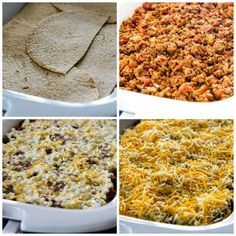 Slow Cooker Low-Carb Mexican Lasagna Casserole found on KalynsKitchen.com