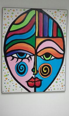 Stone Painting, Painting & Drawing, Pinturas Art Deco, Abstract Face Art, African Art Paintings, Painted Rocks Craft, Circle Art, Christmas Drawing, Mosaic Art